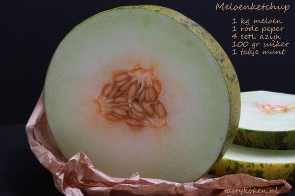 Meloen in schijven