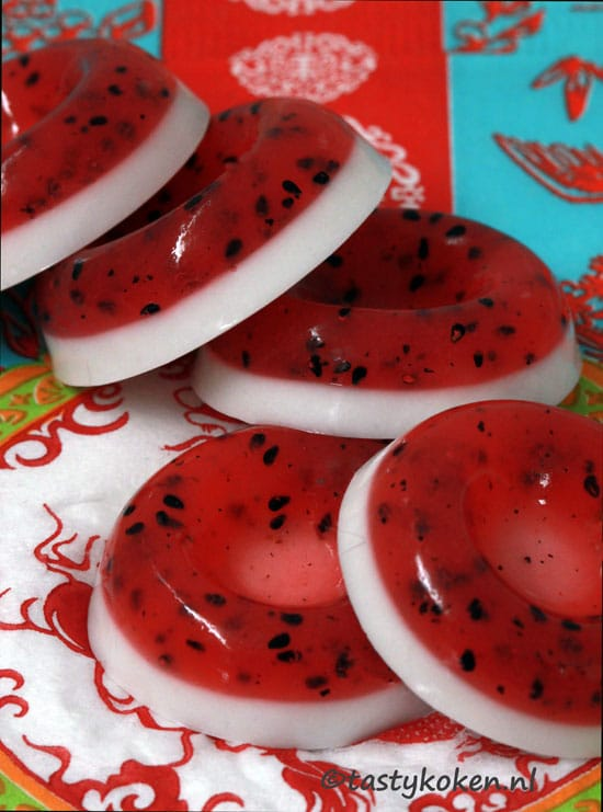 Dragon Fruit Jelly