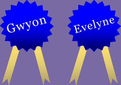 Winnaars receptenwedstrijd vegetarisch: Gwyon en Evelyne