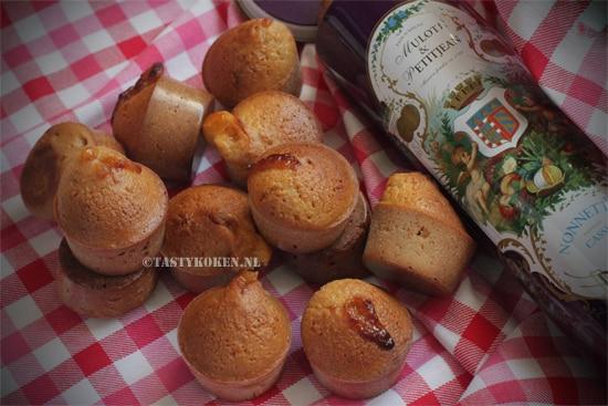 Les Nonnettes, luxe taaitaai, Franse kruidkoekjes