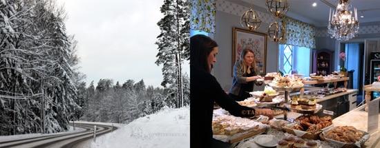 taartjesbuffet in Zweden
